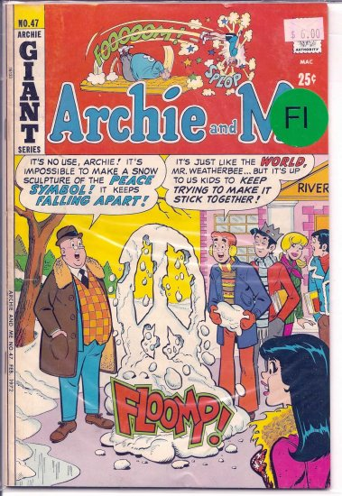 Archie And Me # 47, 6.0 FN