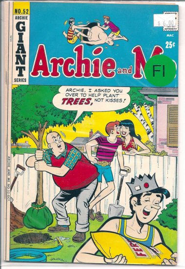 Archie And Me # 52, 6.0 FN