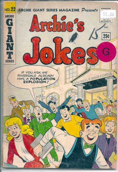 Archie Giant Series Magazine # 22, 2.0 GD
