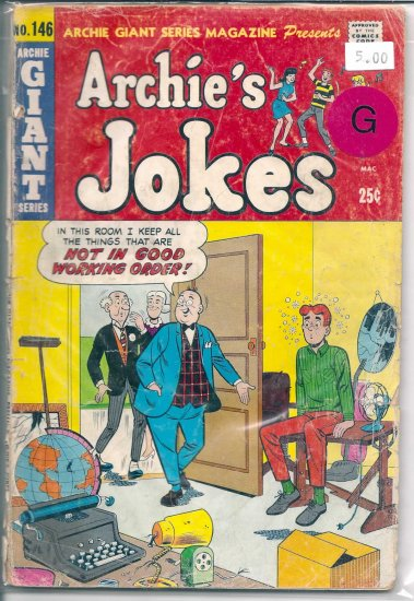 Archie Giant Series Magazine # 146, 2.0 GD