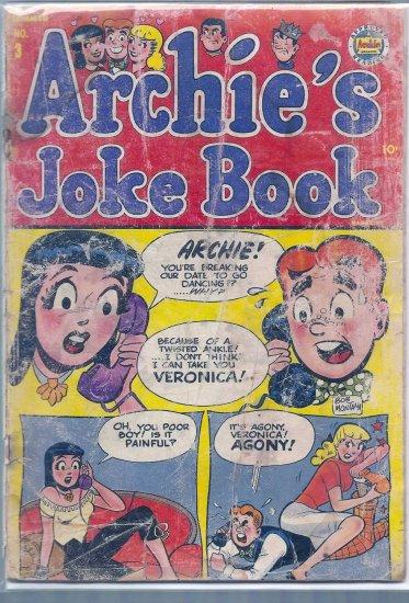 ARCHIE'S JOKE BOOK MAGAZINE # 3, 1.0 FR