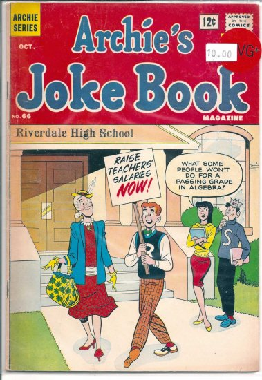 Archie's Joke Book Magazine # 66, 4.5 VG +
