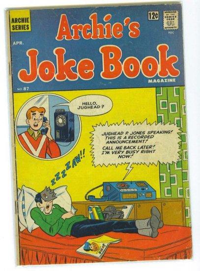 Archie's Joke Book Magazine # 87, 4.0 VG