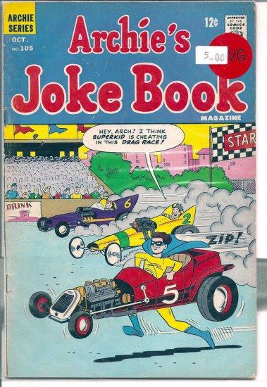 Archie's Joke Book Magazine # 105, 4.0 VG