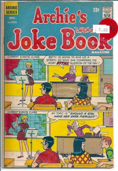 Archie's Joke Book Magazine # 131, 4.0 VG