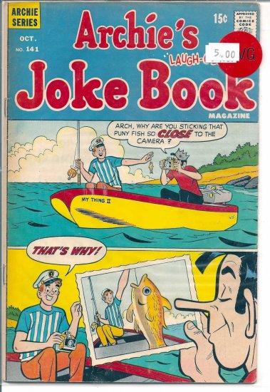 Archie's Joke Book Magazine # 141, 4.0 VG
