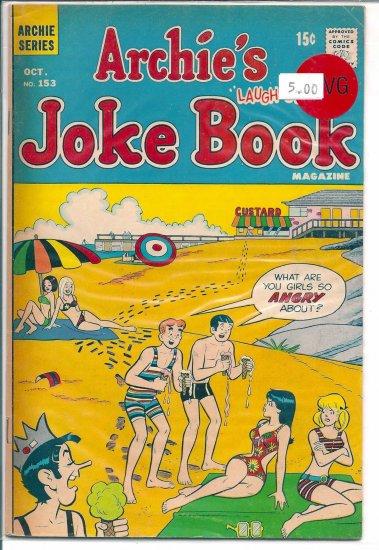 Archie's Joke Book Magazine # 153, 4.0 VG