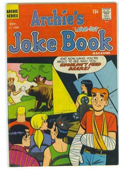 Archie's Joke Book Magazine # 154, 4.0 VG