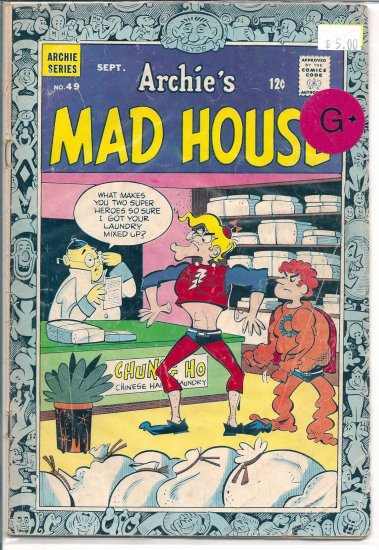 Archie's Madhouse # 49, 2.5 GD +