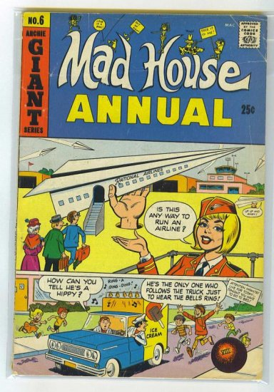 Archie's Madhouse Annual # 6, 2.5 GD +