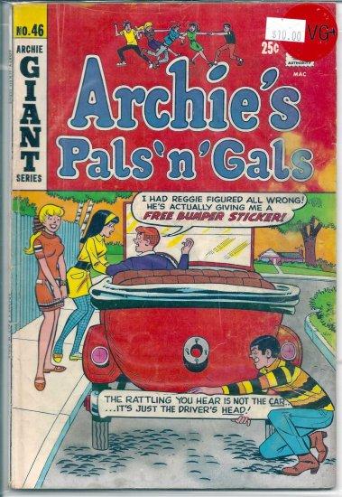Archie's Pals 'N' Gals # 46, 4.5 VG +