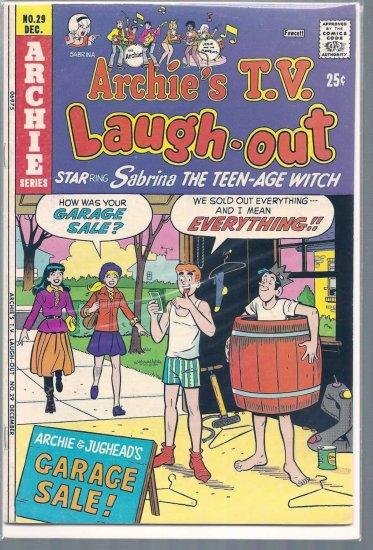 ARCHIE'S T.V. LAUGH-OUT # 29, 4.5 VG +