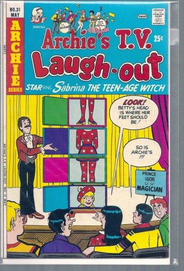ARCHIE'S T.V. LAUGH-OUT # 31, 4.5 VG +