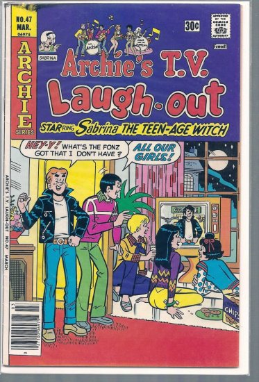 ARCHIE'S T.V. LAUGH-OUT # 47, 4.5 VG +
