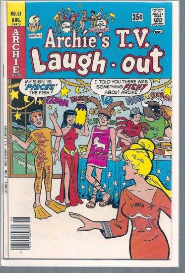ARCHIE'S T.V. LAUGH-OUT # 51, 4.0 VG