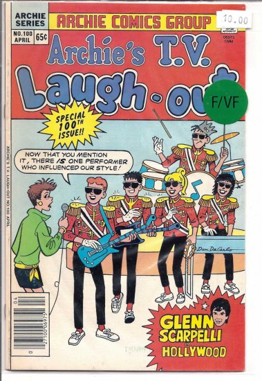 Archie's TV Laugh-Out # 100, 4.5 VG +