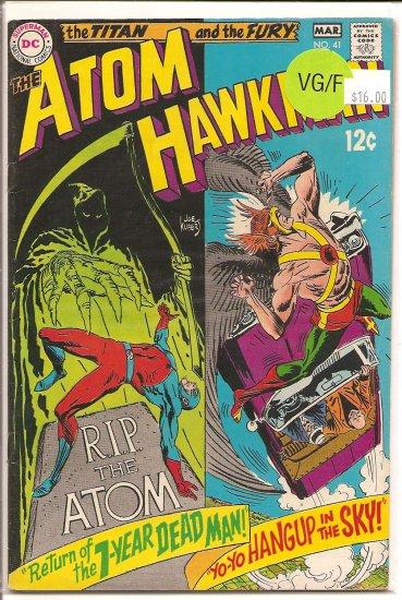 Atom and Hawkman # 41, 5.0 VG/FN