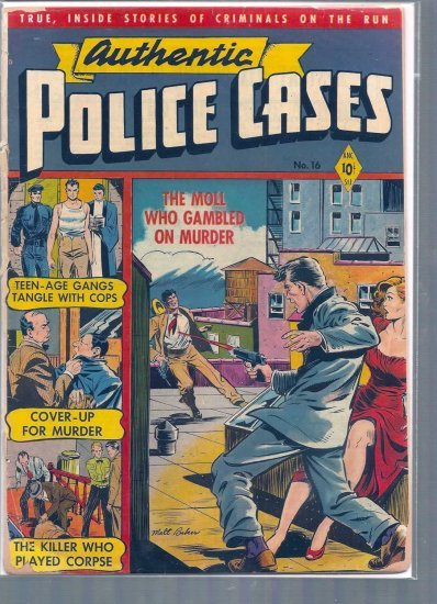 AUTHENTIC POLICE CASES # 16, 1.0 FR