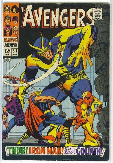 Avengers # 51, 4.5 VG +