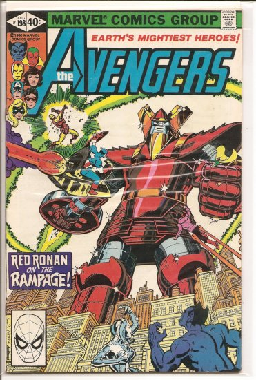 Avengers # 198, 6.0 FN
