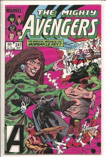Avengers # 241, 7.5 VF -