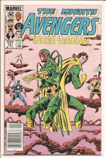 Avengers # 251, 7.0 FN/VF