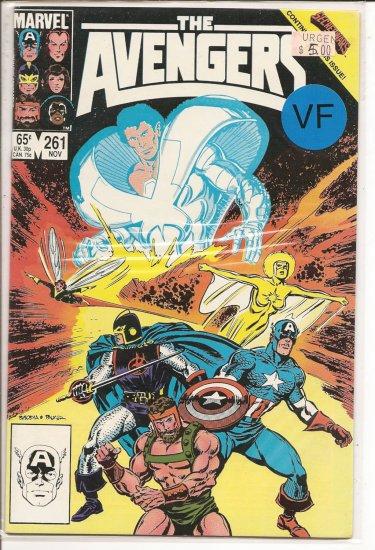 Avengers # 261, 8.0 VF
