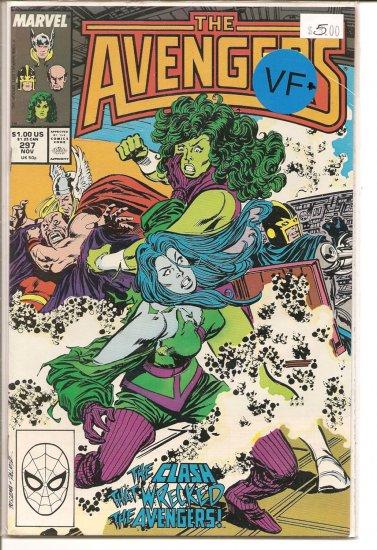 Avengers # 297, 8.5 VF +