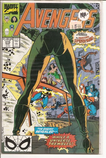 Avengers # 315, 9.2 NM -