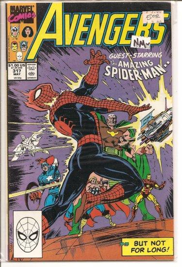 Avengers # 317, 9.2 NM -