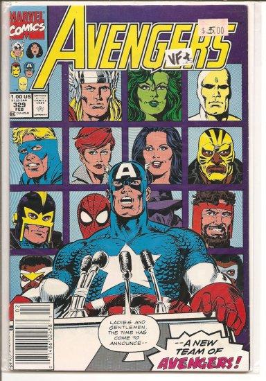 Avengers # 329, 8.5 VF +