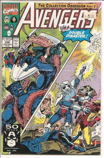 Avengers # 336, 9.0 VF/NM