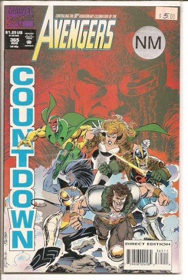 Avengers # 365, 9.4 NM