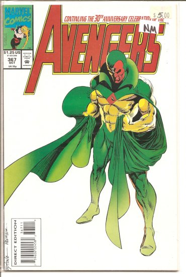 Avengers # 367, 9.4 NM