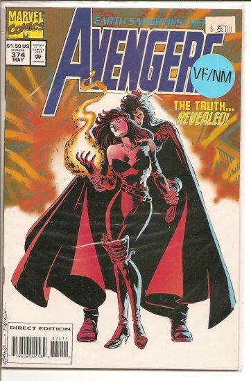 Avengers # 374, 9.0 VF/NM