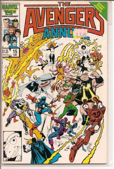 Avengers Annual # 15, 8.5 VF +
