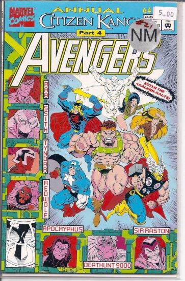Avengers Annual # 21, 9.4 NM