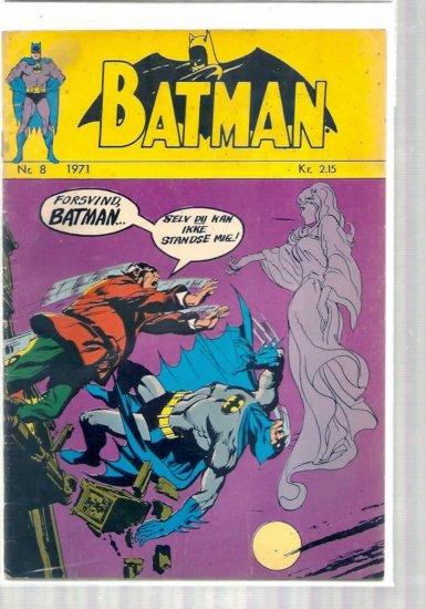 BATMAN # 8, 4.0 VG