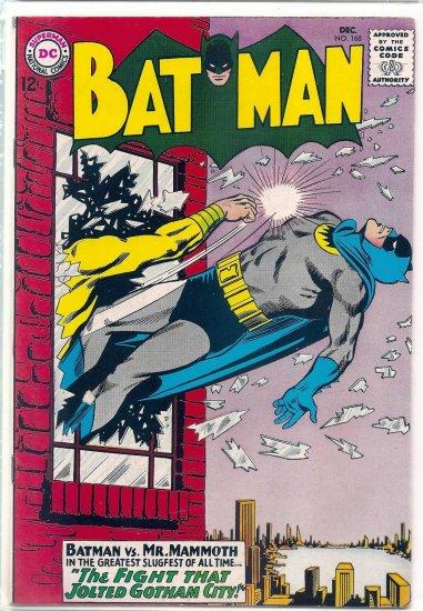 BATMAN # 168, 7.5 VF -