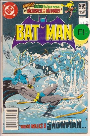 Batman # 337, 5.5 FN -