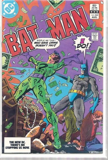 BATMAN # 362, 9.2 NM -