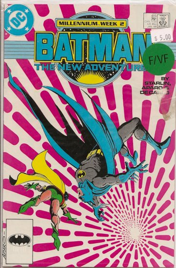 Batman # 415, 7.0 FN/VF