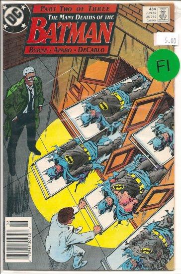 Batman # 434, 6.0 FN