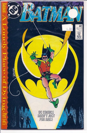 Batman # 442, 9.4 NM