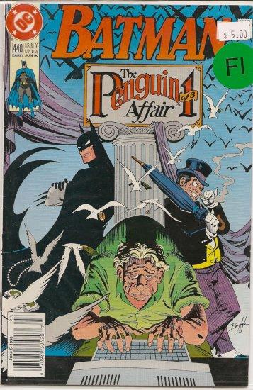 Batman # 448, 6.0 FN