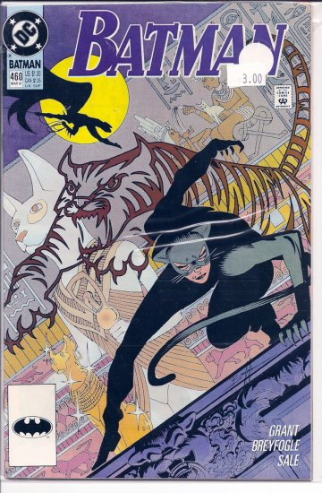 Batman # 460, 9.2 NM -