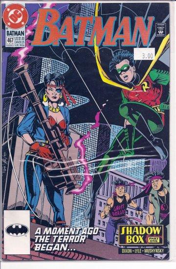Batman # 467, 9.2 NM -