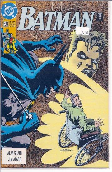 Batman # 480, 9.2 NM -