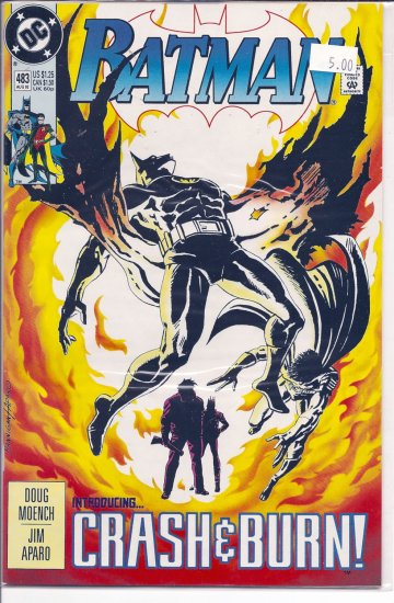 Batman # 483, 9.2 NM -