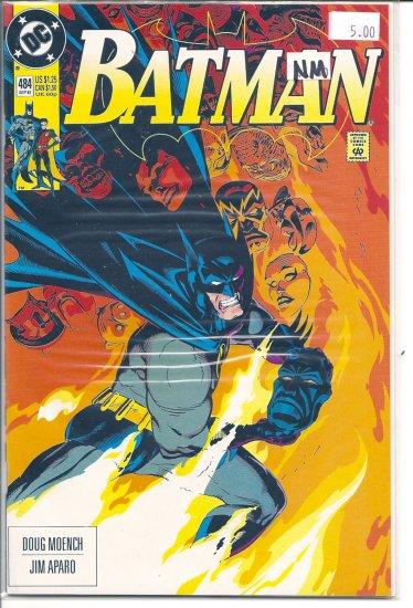 Batman # 484, 9.4 NM